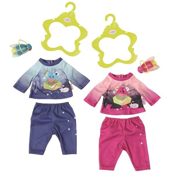 Zapf Creation Baby born 824-818 Бэби Борн Удобный костюмчик и светлячок-ночник zapf creation одежда для куклы baby born удобный костюмчик и светлячок ночник