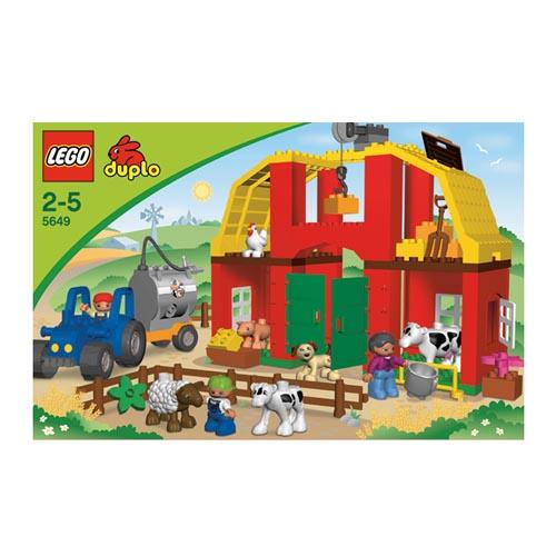 Лего Дупло 5649 Конструктор Крупная ферма