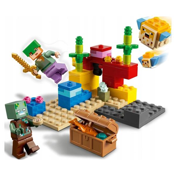LEGO Minecraft 21164 Конструктор ЛЕГО Майнкрафт Коралловый риф