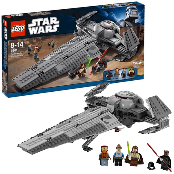 Lego Star Wars 7961 Конструктор Лего Звездные войны Ситхский корабль-разведчик Дарта Мола