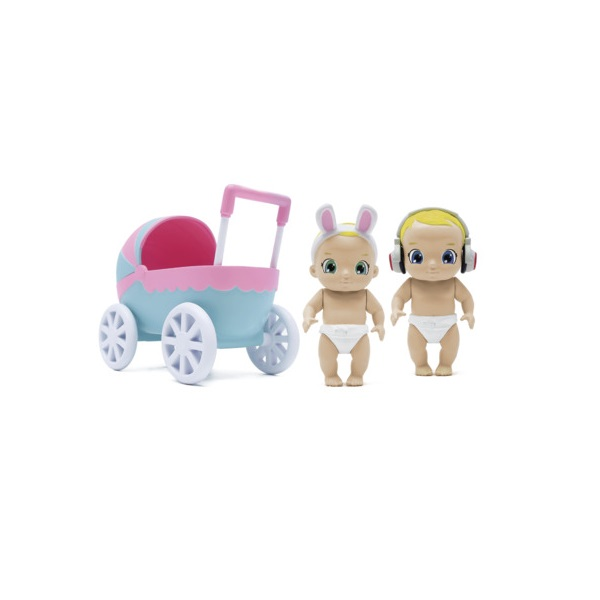 Zapf Creation Baby Secrets 930-151 Бэби Секрет Набор с коляской