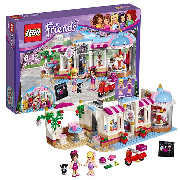 LEGO конструктор lego 41308 кондитерская стефани
