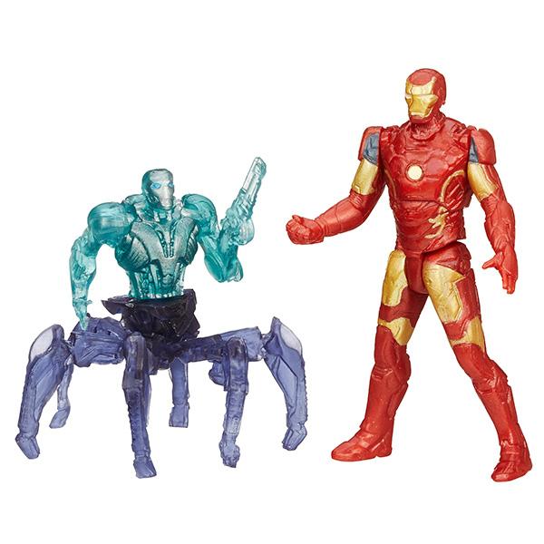 Hasbro Avengers B0423 Набор из двух мини-фигурок Мстителей, 6 см (в ассортименте) фигурки игрушки hasbro набор микро фигурок марвел