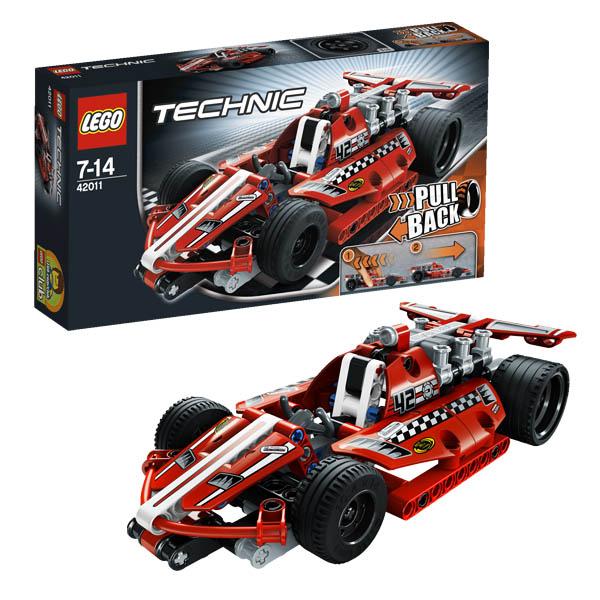Конструктор Lego Technic 42011 Лего Техник Карт с инерционным двигателем