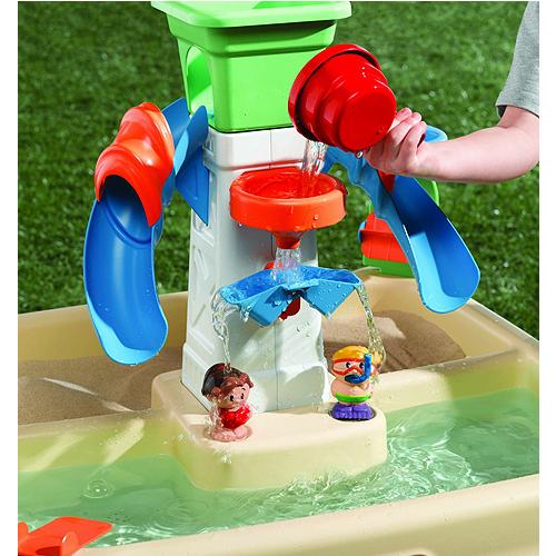 Little Tikes 635311 Литл Тайкс Стол-песочница с зоной для воды