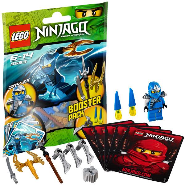 Lego Ninjago 9553 Конструктор Лего Ниндзяго Джей, ниндзя Молнии
