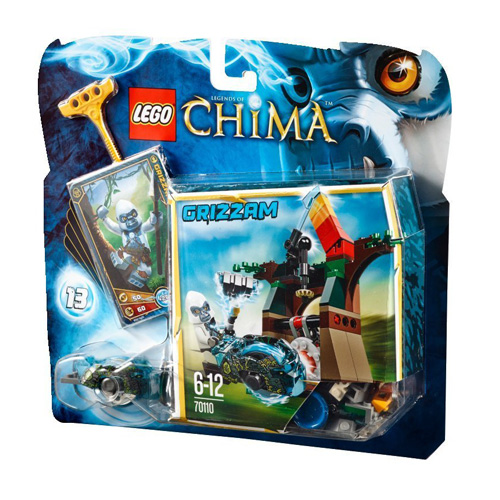 Лего Legends of Chima 70110 Неприступная башня