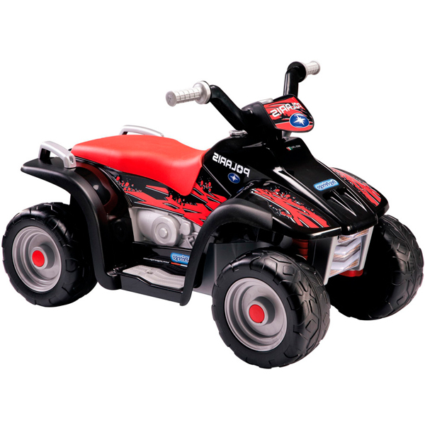 Детский электроквадроцикл Peg-Perego ED1106 Polaris Sportsman 400 Nero