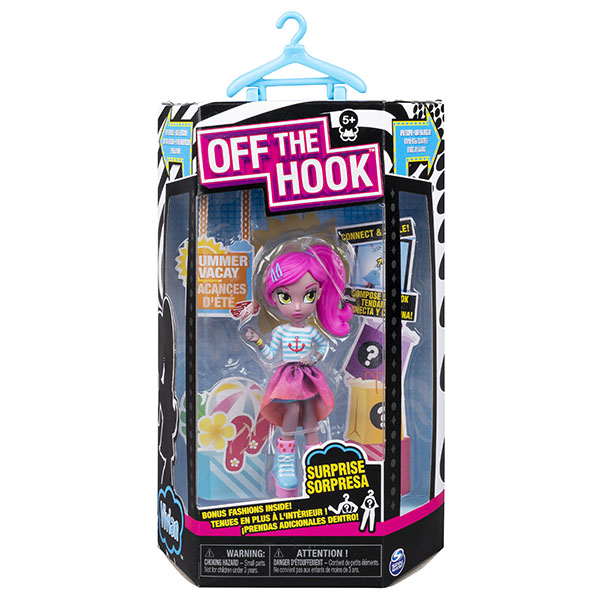 Off the Hook 6045583-VIV Стильная кукла с аксессуарами Вивиан летние каникулы