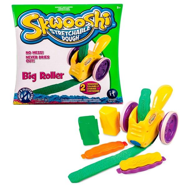 Skwooshi S30002 Сквуши Набор для творчества Большой роллер - масса для лепки и аксессуары skwooshi набор для лепки с аксессуарами бургер