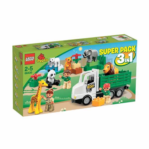 Lego Duplo Lego SuperPack 66430 Лего Суперпэк Дупло Зоопарк Подарочный