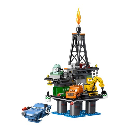 Lego Cars 9486_1 Конструктор Лего Тачки 2 Операция Нефтяная вышка