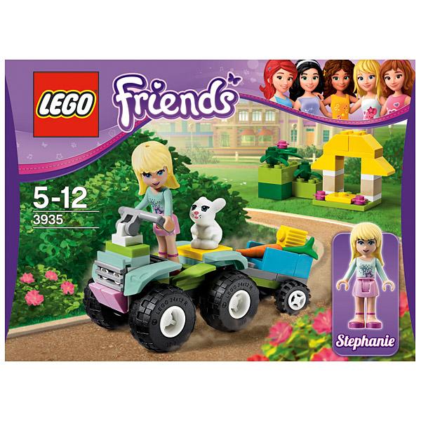 Lego Friends 3935 Конструктор Стефани на квадроцикле