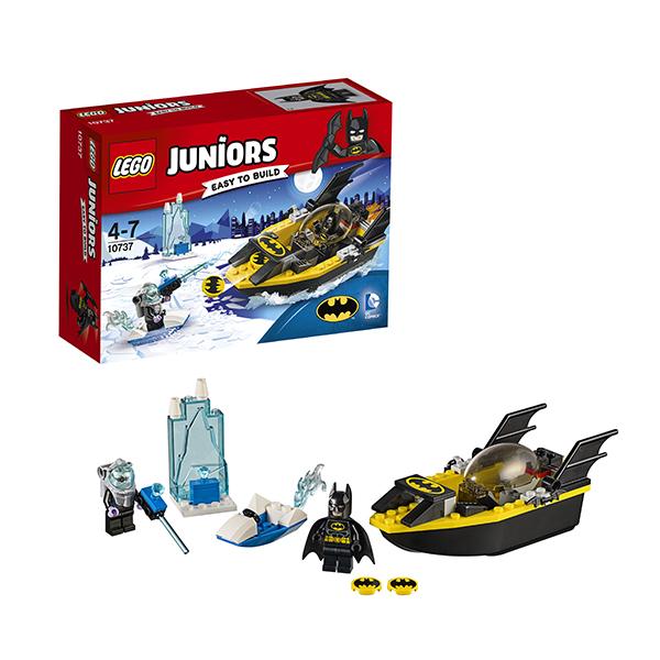 Lego Juniors 10737 Лего Джуниорс Бэтмен против Мистера Фриза lego juniors 10739 лего джуниорс ниндзяго нападение акулы