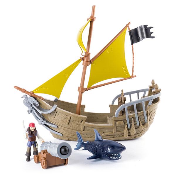 Pirates of Caribbean 73112-P Корабль Джека Воробья черная жемчужина корабль капитана джека воробья