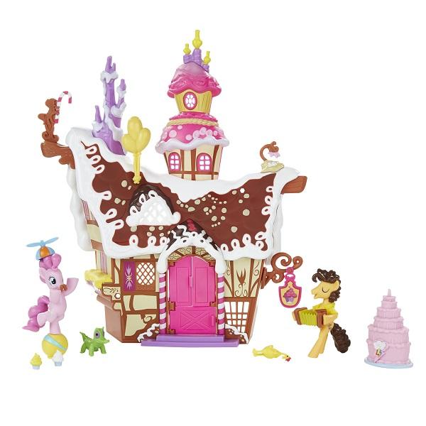 """Hasbro My Little Pony B3594_9 Май Литл Пони Коллекционный игровой набор""""Сахарный дворец"""""""