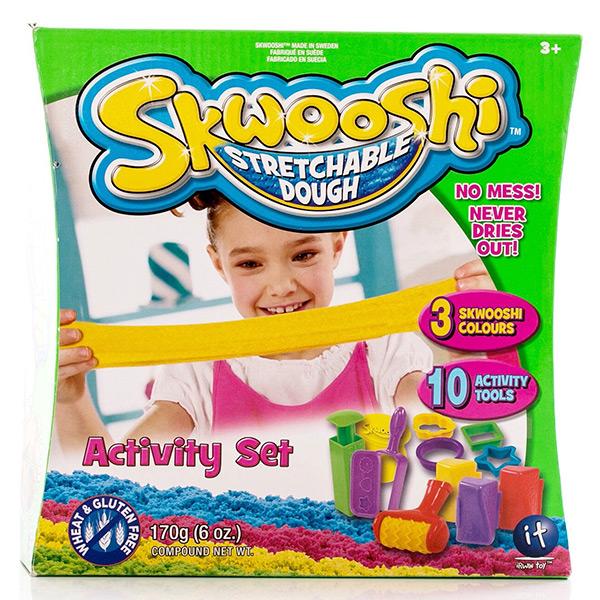Skwooshi S30004 Сквуши Набор для творчества игровой - масса для лепки и аксессуары skwooshi набор для лепки с аксессуарами бургер