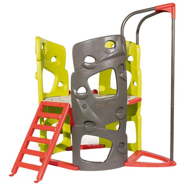 Smoby 840201 Игровой комплекс башня с горкой детский игровой комплекс красная звезда панорама с горкой р955 1
