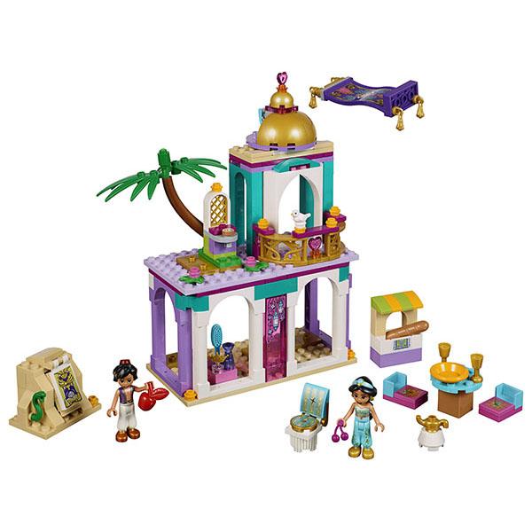 LEGO Disney Princess 41161 Конструктор ЛЕГО Принцессы Дисней Приключения Аладдина и Жасмин во дворце