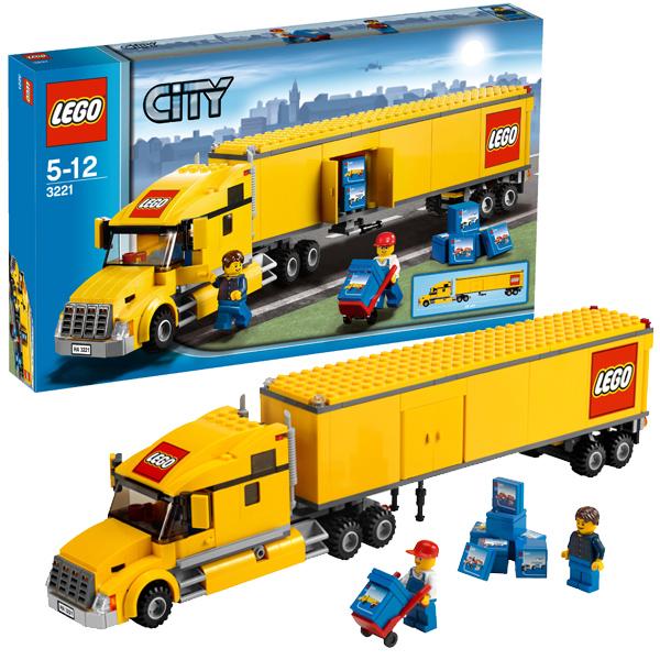Lego City 3221 Конструктор Лего Город Грузовик ЛЕГО