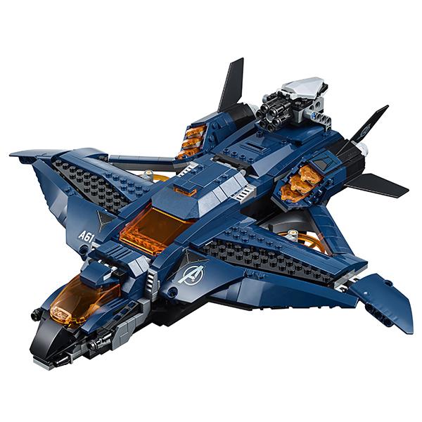 LEGO Super Heroes 76126 Супер Герои Модернизированный квинджет Мстителей