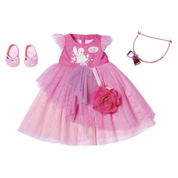 Zapf Creation Baby born 827-178 Бэби Борн Бальное платье Делюкс