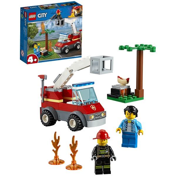 LEGO City 60212 Конструктор ЛЕГО Город Пожарные: Пожар на пикнике цена