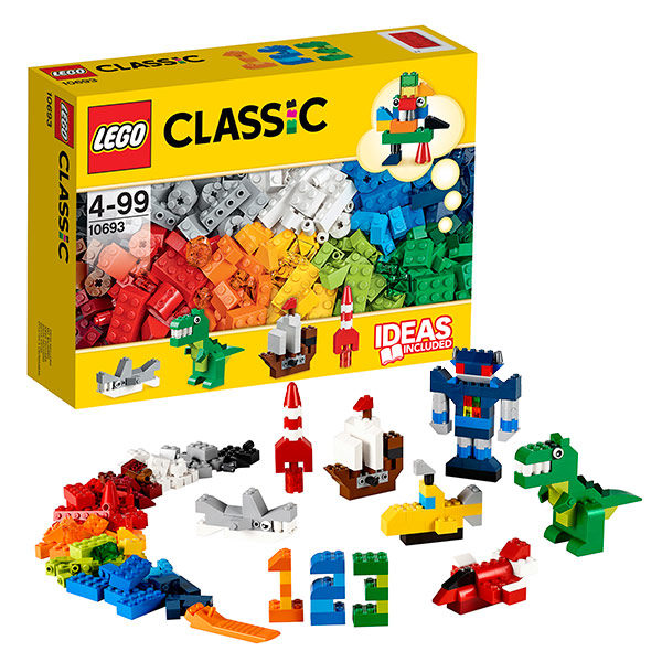 Lego Classic 10693 Конструктор Лего Классик Набор для творчества - яркие цвета newborn baby boy girl set spring 2017 infantil boys outerwear sport clothing cartoon letter print girls clothes 2pcs suit cloth