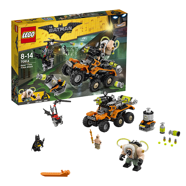 Lego Batman Movie 70914 Конструктор Лего Фильм Бэтмен: Химическая атака Бэйна
