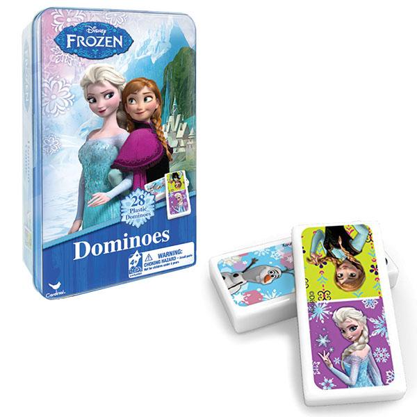Spin Master 6033086 Настольная игра Домино Disney Холодное Сердце tomy настольная игра холодное сердце освободи олафа