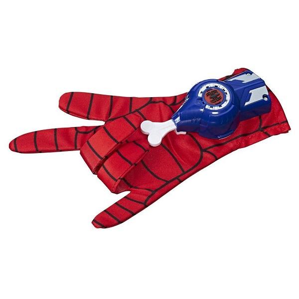 Hasbro Spider-Man B9762 Перчатка Человека-Паука со звуком hasbro игровой набор spider man перчатка человека паука со звуком