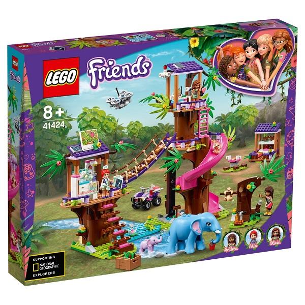 LEGO Friends 41424 Конструктор ЛЕГО Подружки Джунгли: штаб спасателей