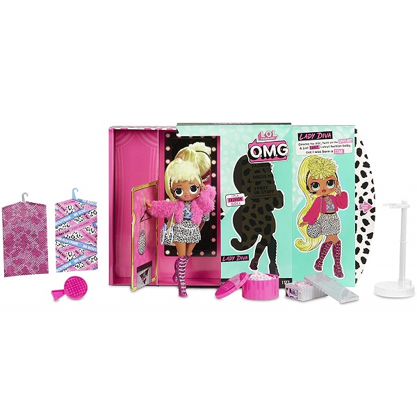 L.O.L. Surprise 560562 Кукла OMG Lady Diva 20 см