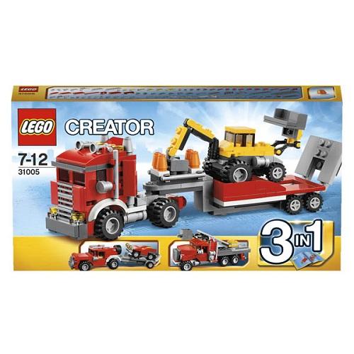Конструктор Lego Creator 31005 Конструктор Строительный тягач (автокран/багги с трамплином)
