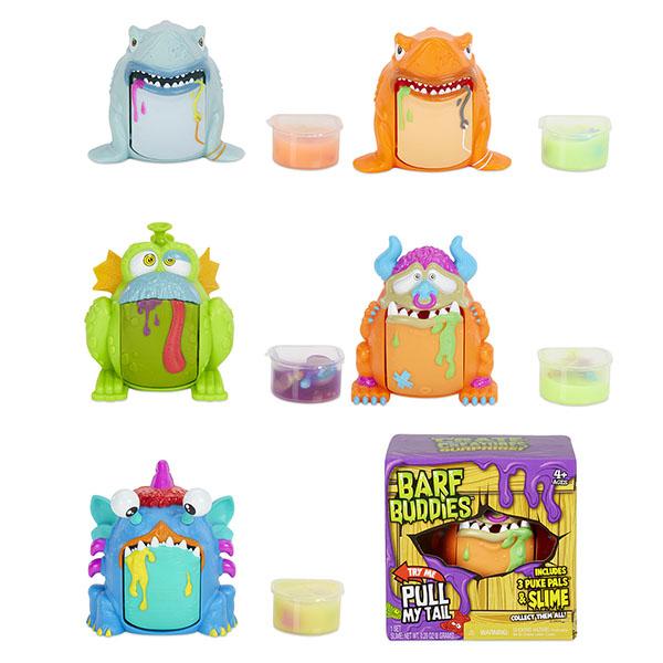 Crate Creatures 555063 Игрушка Монстр Barf Buddies crate creatures монстр падж разноцветный