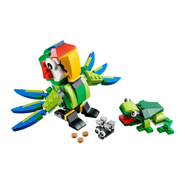 Конструктор Lego Creator 31031 Лего Криэйтор Животные джунглей