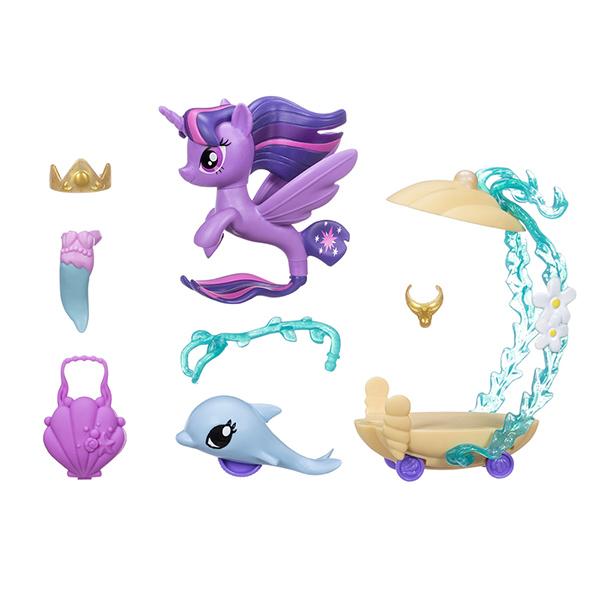 Hasbro My Little Pony C0682/C3284 Май Литл Пони Пони Мерцание с аксессуарами Твайлайт Спаркл
