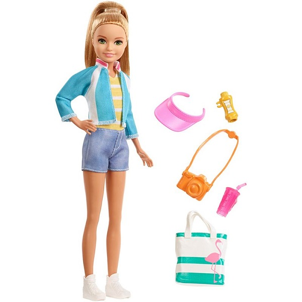 Mattel Barbie FWV16 Барби Стейси из серии Путешествия