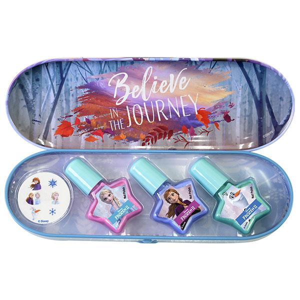 Markwins 1599002E Frozen Игровой набор детской декоративной косметики для ногтей в пенале мал.