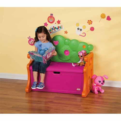 Little Tikes 631870 Литл Тайкс Скамья с местом для хранения игрушек
