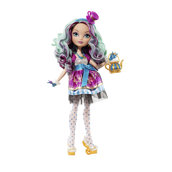 Mattel Ever After High BBD43 Мэдлин Хэттер пеналы mattel пенал 1 отделение узкий mattel ever after high серебр роз наполненный