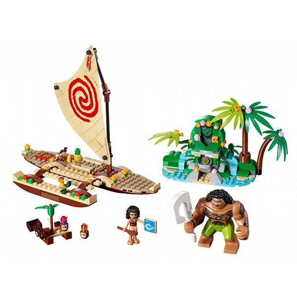 LEGO Disney Princess 41150 Конструктор ЛЕГО Принцессы Путешествие Моаны через океан