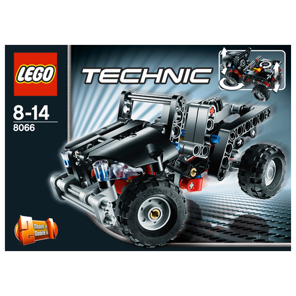Лего Техник 8066 Конструктор Внедорожник