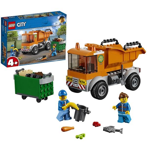 цена на LEGO City 60220 Конструктор Лего Город Транспорт: Мусоровоз