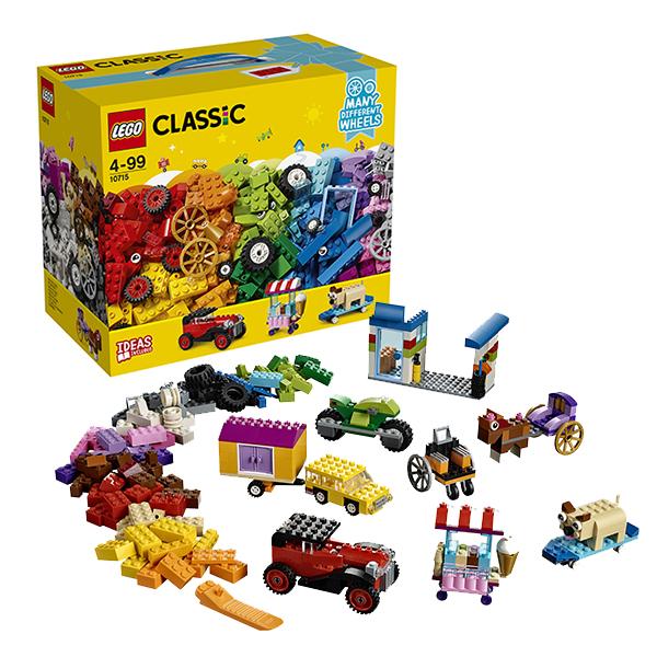 Lego Classic 10715 Лего Классик Модели на колёсах lego горный внедорожник 70589