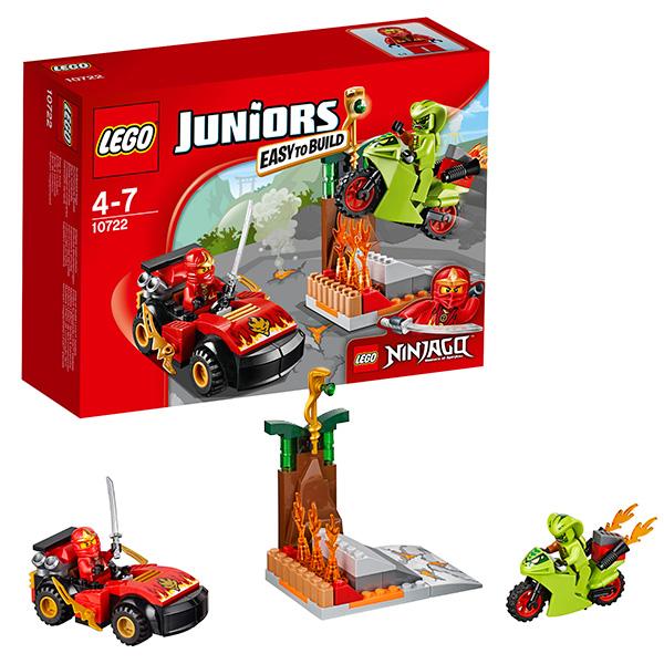 Lego Juniors 10722 Лего Джуниорс Схватка со змеями lego juniors 10739 лего джуниорс ниндзяго нападение акулы