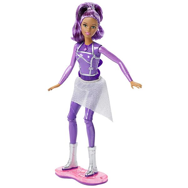 Mattel Barbie DLT23 Барби Кукла с ховербордом из серии Barbie и космическое приключение mattel barbie dmb27 барби сестра barbie с питомцем