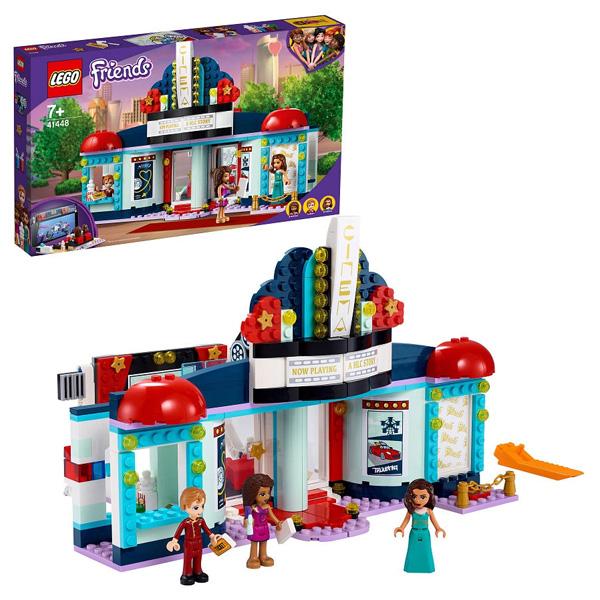LEGO Friends 41448 Конструктор ЛЕГО Подружки Кинотеатр Хартлейк-Сити