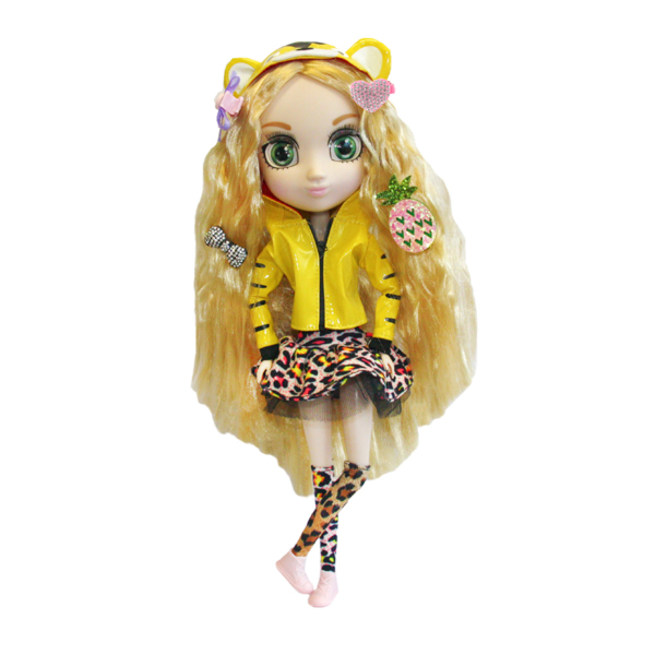 Shibajuku Girls HUN2307 Кукла Коэ, 33 см shibajuku girls hun6621 кукла кое 33 см
