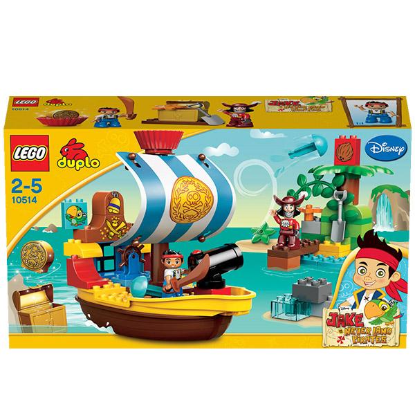 Лего Дупло 10514 Пиратский корабль Джейка